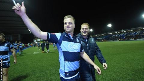 Gareth Anscombe: Wales fly-half to leave Cardiff Blues for Ospreys