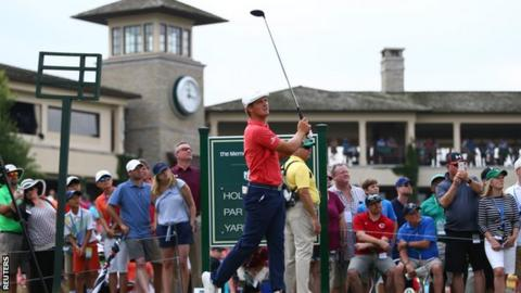 Bryson DeChambeau wins Memorial with birdie on 2nd extra hole