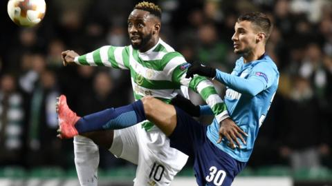 Moussa Dembele and Emanuel Mammana