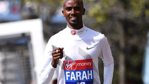 Mo Farah of Great Britain