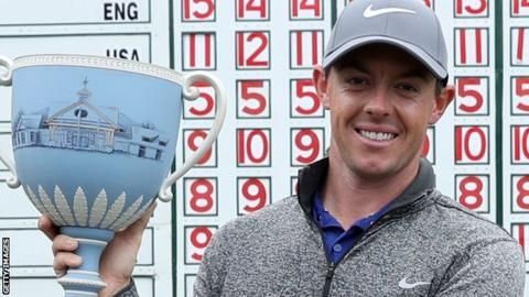 Rory McIlroy won his first PGA Tour title for 16 months at the Deutsche Bank Championship