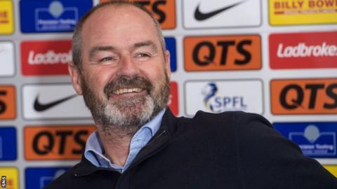 Kilmarnock manager Steve Clarke