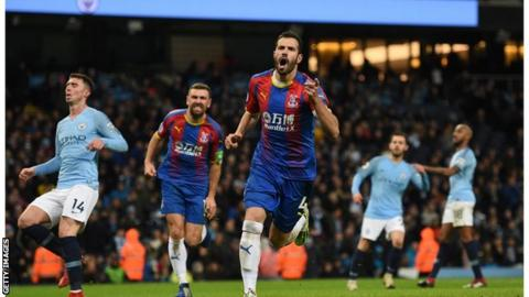 Andros Townsend wonder goal helps Crystal Palace shock Manchester City