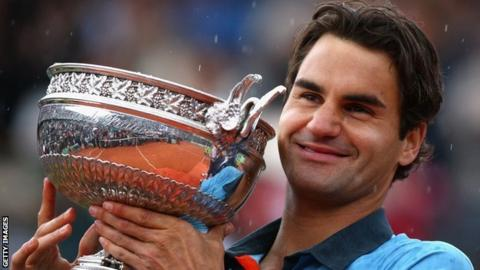 Roger Federer won the French Open in 2009