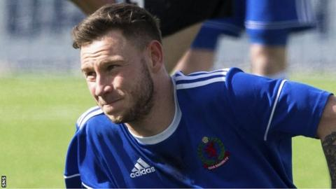 Cove Rangers' Mitch Megginson