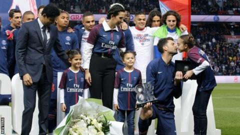 Neymar wins French Player of Year award