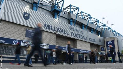 The Den, home of Millwall FC