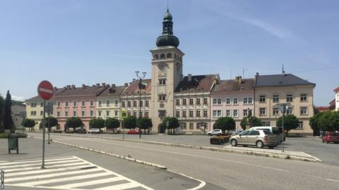 Fulnek town square