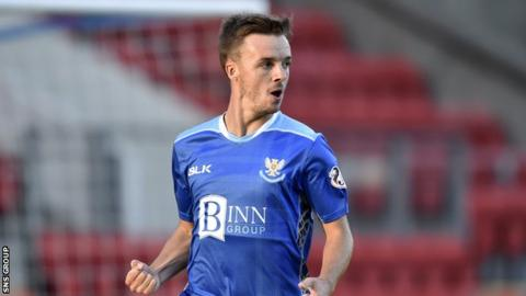 Image result for Stefan Scougall st johnstone