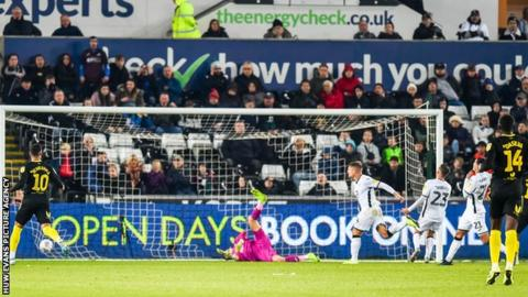 Jake Bidwell's own goal summed up another disappointing home game for Swansea
