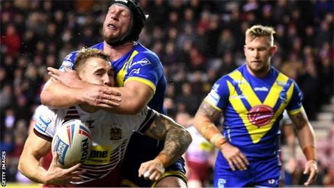 Chris Hill's tackle on Sam Powell