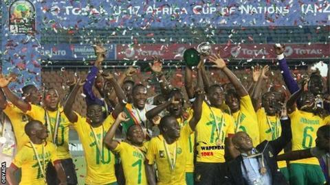 Cameroon U-17 team