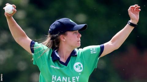 Ireland women's captain Laura Delany