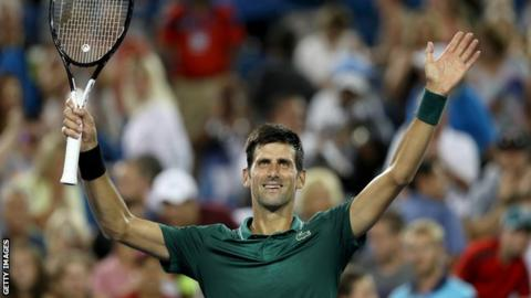 Djokovic Suffered A Surprise Defeat At The Rogers Cup Last Week Losing To Greeces Stefanos Tsitsipas In Round Three