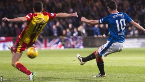 Injuries curtailed Dorrans' impact at Rangers