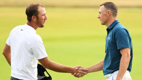 Kevin Chappell and Jordan Spieth
