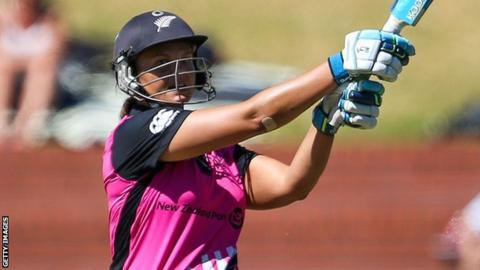 New Zealand captain Suzie Bates