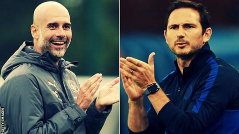 Guardiola and Lampard