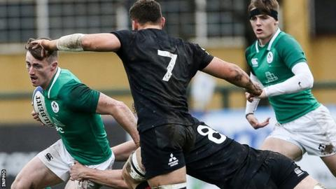 World Rugby U20 Championship: England grab last-gasp win over Ireland