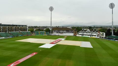 The covers are on at Taunton