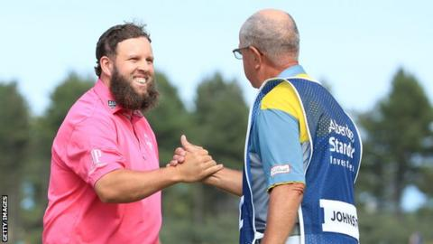 """Andrew """"Beef"""" Johnston at the Scottish Open"""