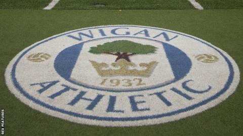 Wigan Athletic badge