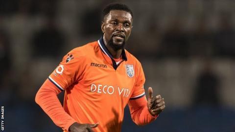 Togo striker Emmanuel Adebayor