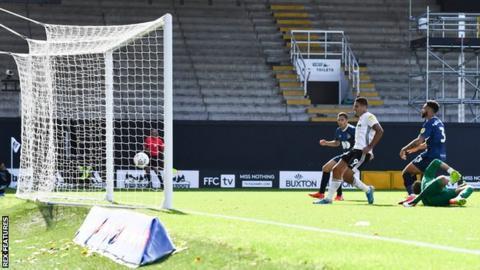 Aleksandar Mitrovic's late second goal