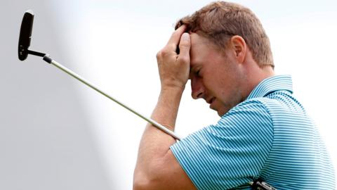 Jordan Spieth after first round at the Open
