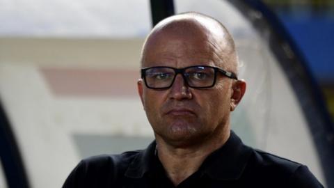 Croatian coach Zdravko Logarusic