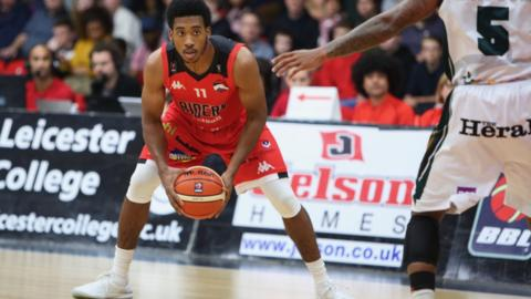 Leicester Riders in action