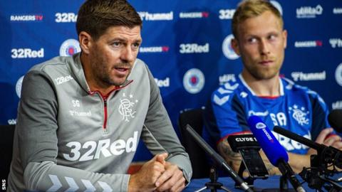 Rangers v St. Joseph's: Steven Gerrard 'very close' to squad he desires for title tilt