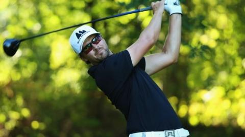 Rikard Karlberg wins his first European Tour title at the Open d'Italia.
