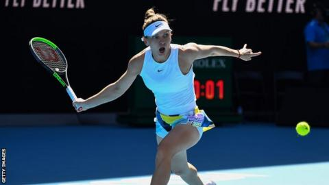Halep through to quarter-finals at Open