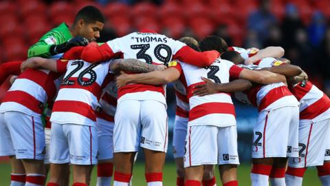 Doncaster players
