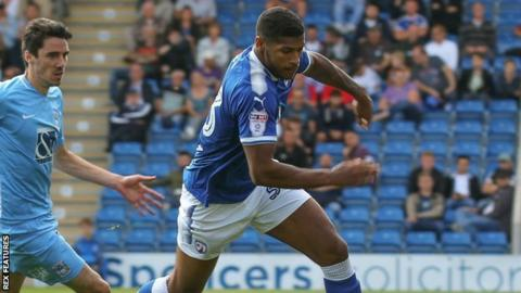 Zak Jules made six appearances for Vale's League Two rivals Chesterfield earlier this season before suffering a hamstring injury