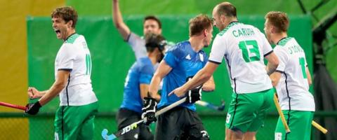 John Jermyn (left) was among the scorers for Ireland at the Olympic Games in Rio