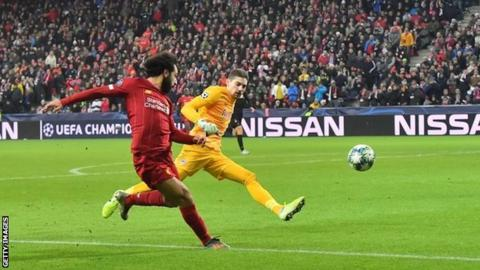 Mohamed Salah's goal for Liverpool at Red Bull Salzburg: 'Mo, you can't do this'