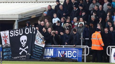 Coventry City supporters