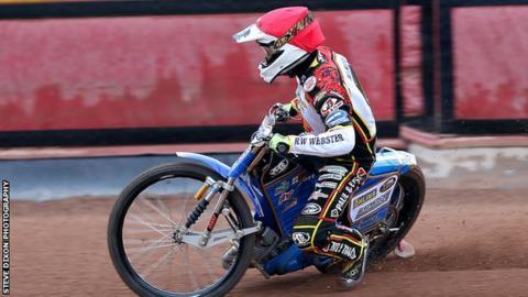 Leicester Lions' Nicolai Klindt