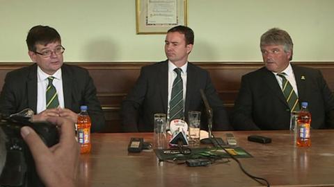 Plymouth Argyle unveil Derek Adams as manager