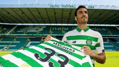 Celtic defender Hatem Abd Elhamed
