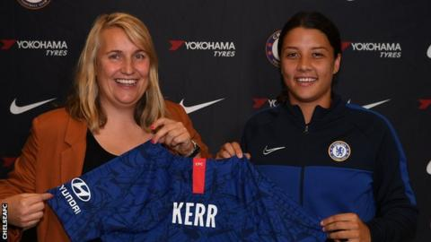 Chelsea sign Australia star Sam Kerr