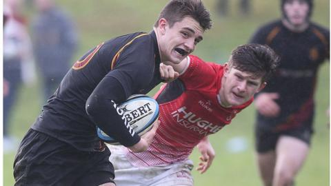 Foyle College's cup hopes were ended by a 19-10 home defeat by Regent House
