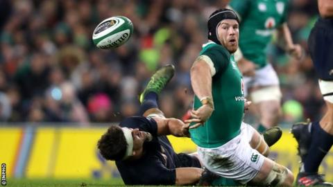 Ireland Dealt Sean O'Brien Injury Blow Ahead Of Six Nations