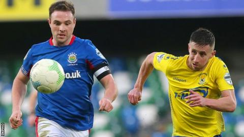 Jamie Mulgrew's Linfield are four points clear of second-placed Coleraine in the Irish Premiership