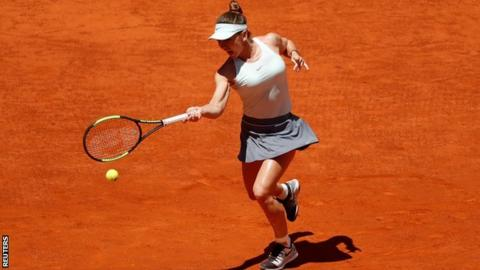Halep beats Bencic to reach fourth Madrid Open final