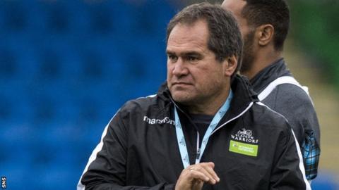 Glasgow head coach Dave Rennie
