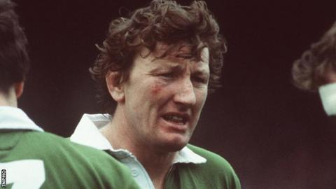 Willie Duggan made 41 appearances for Ireland