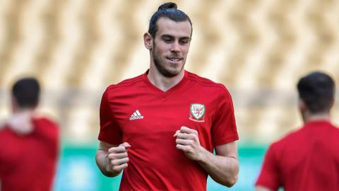 Gareth Bale of Wales